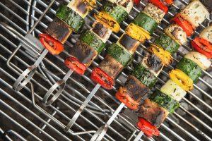 barbecue di verdure