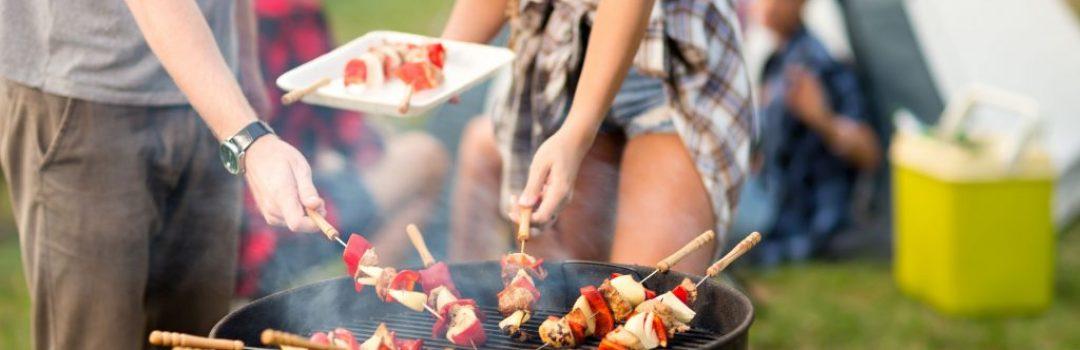 barbecue e grill in campeggio